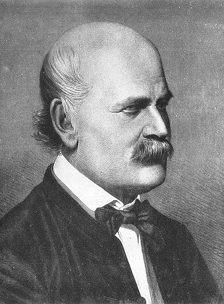 Ignaz Semmelweis in 1860
