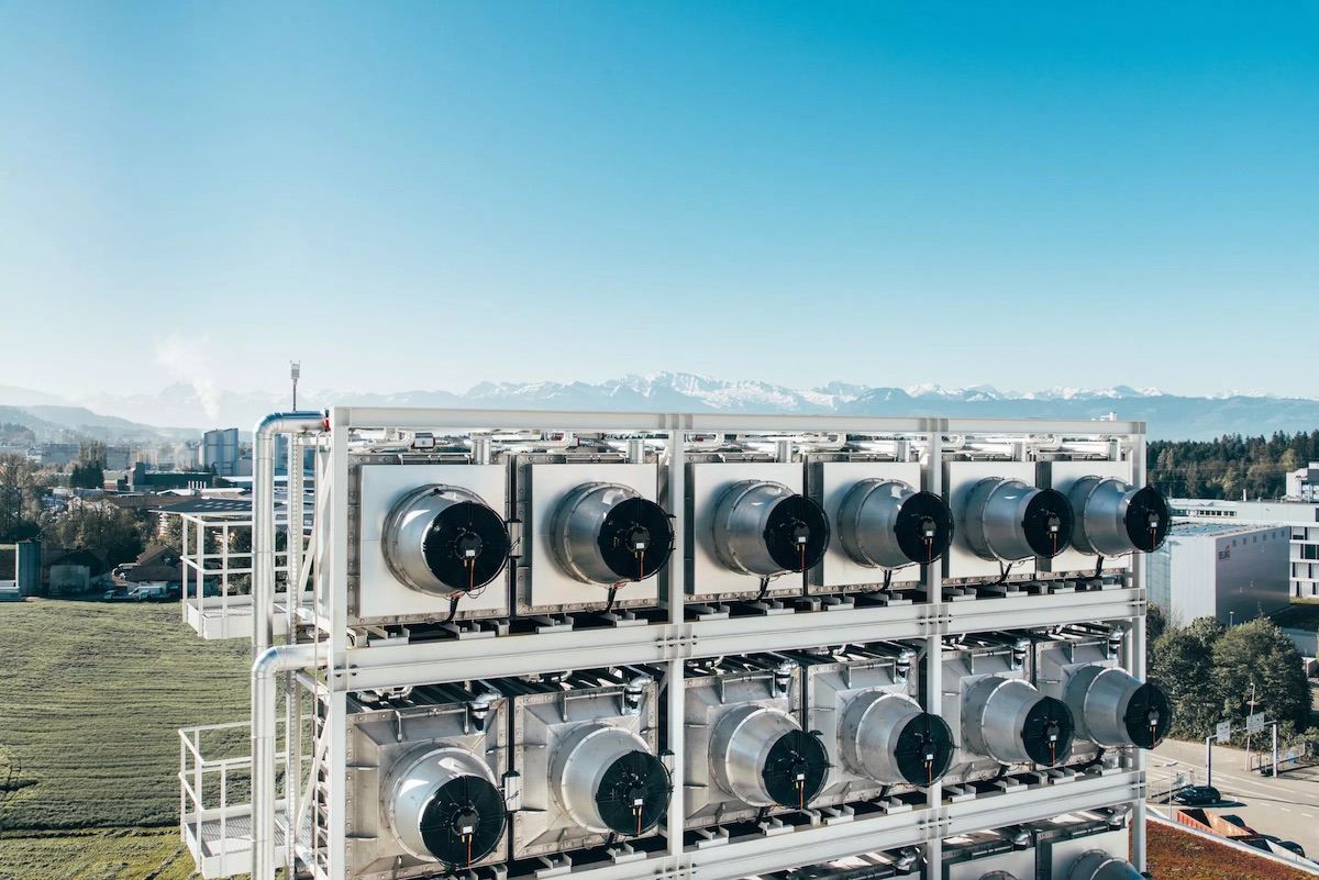 Climeworks Hinwil CO2-Entfernung