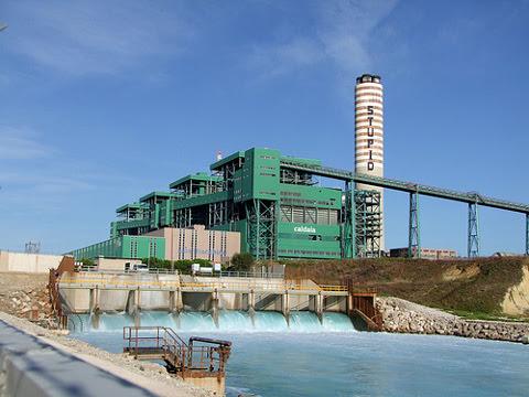 Enel-Kohlekraftwerk in Brindisi.