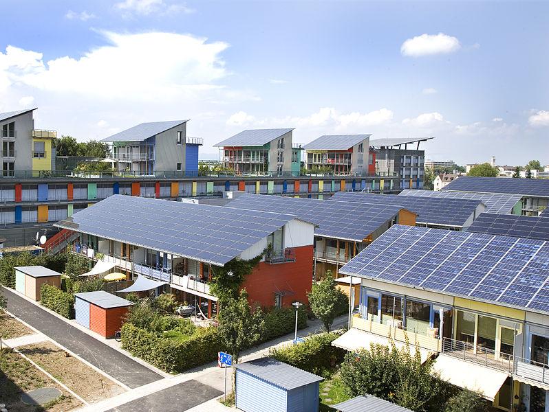 Solarsiedlung in Freiburg, D.