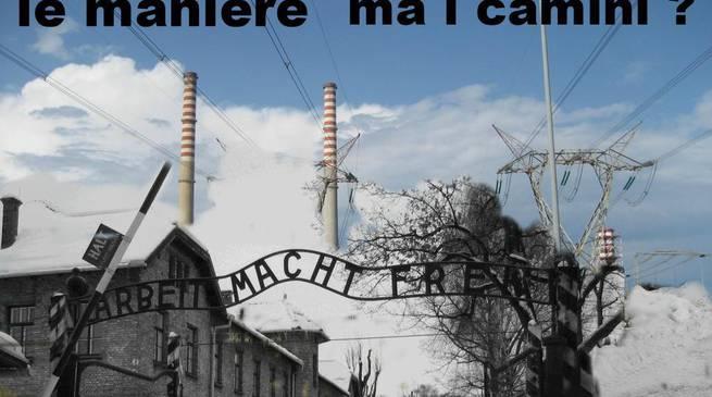 Vergleich des Konzentrationslagers Auschwitz mit dem Kohlekraftwerk Vado Ligure