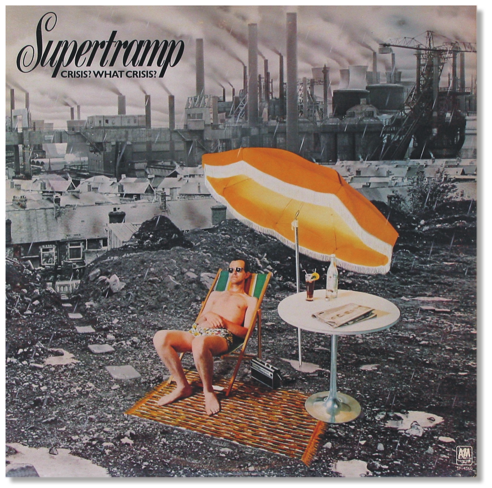 Krise? Welche Krise? | Plattencover. Supertramp, 1975. Crisis? What Crisis?