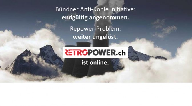 Retropower.ch ist online